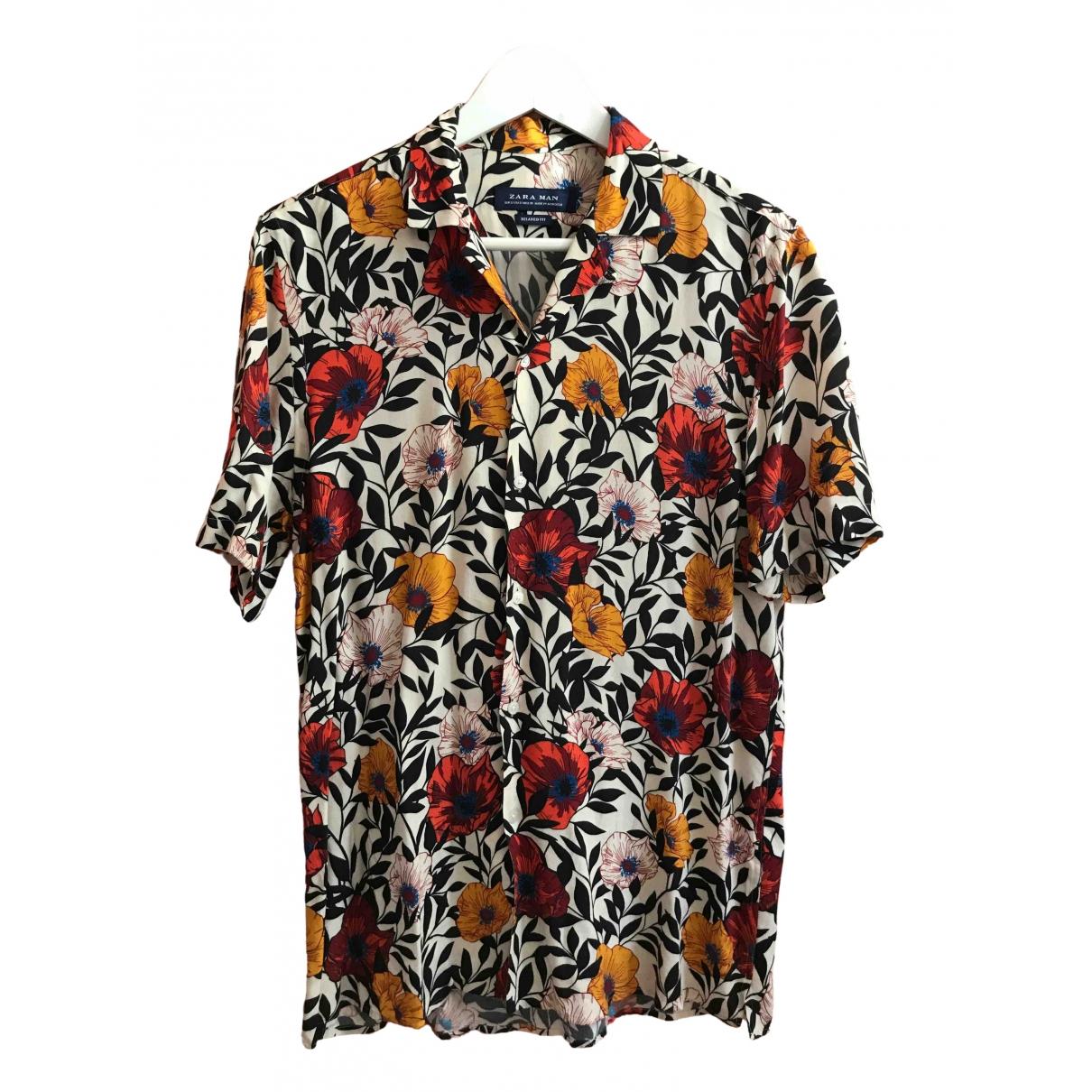 Zara - Chemises   pour homme - ecru