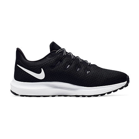 Nike Quest Womens Lace-up Running Shoes, 8 Wide, Black