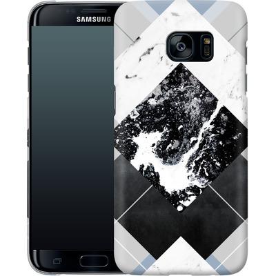 Samsung Galaxy S7 Edge Smartphone Huelle - Geometric Textures 5 von Mareike Bohmer