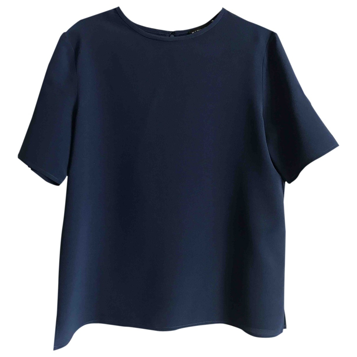 Etro \N Blue Silk  top for Women 42 IT