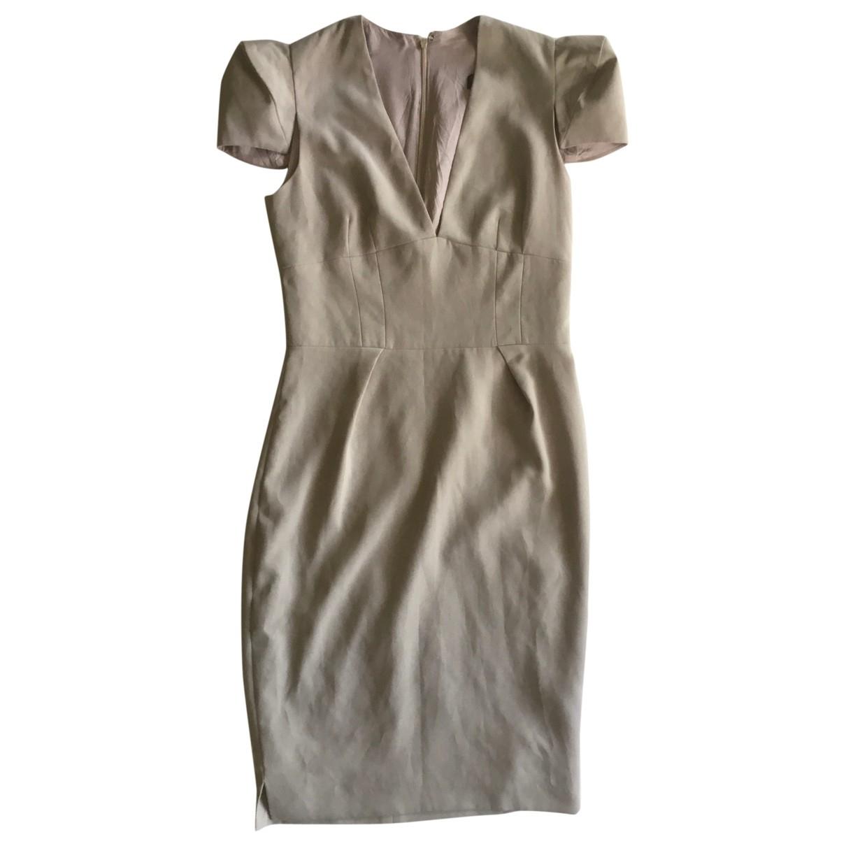 Alexandre Vauthier \N Beige dress for Women 40 FR