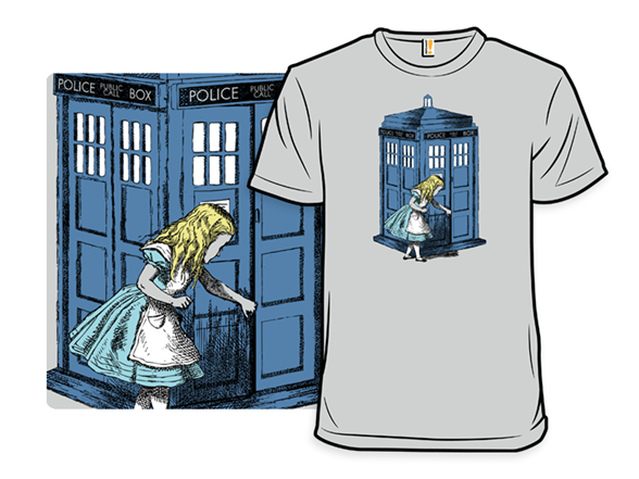 Through The Police Box Remix T Shirt
