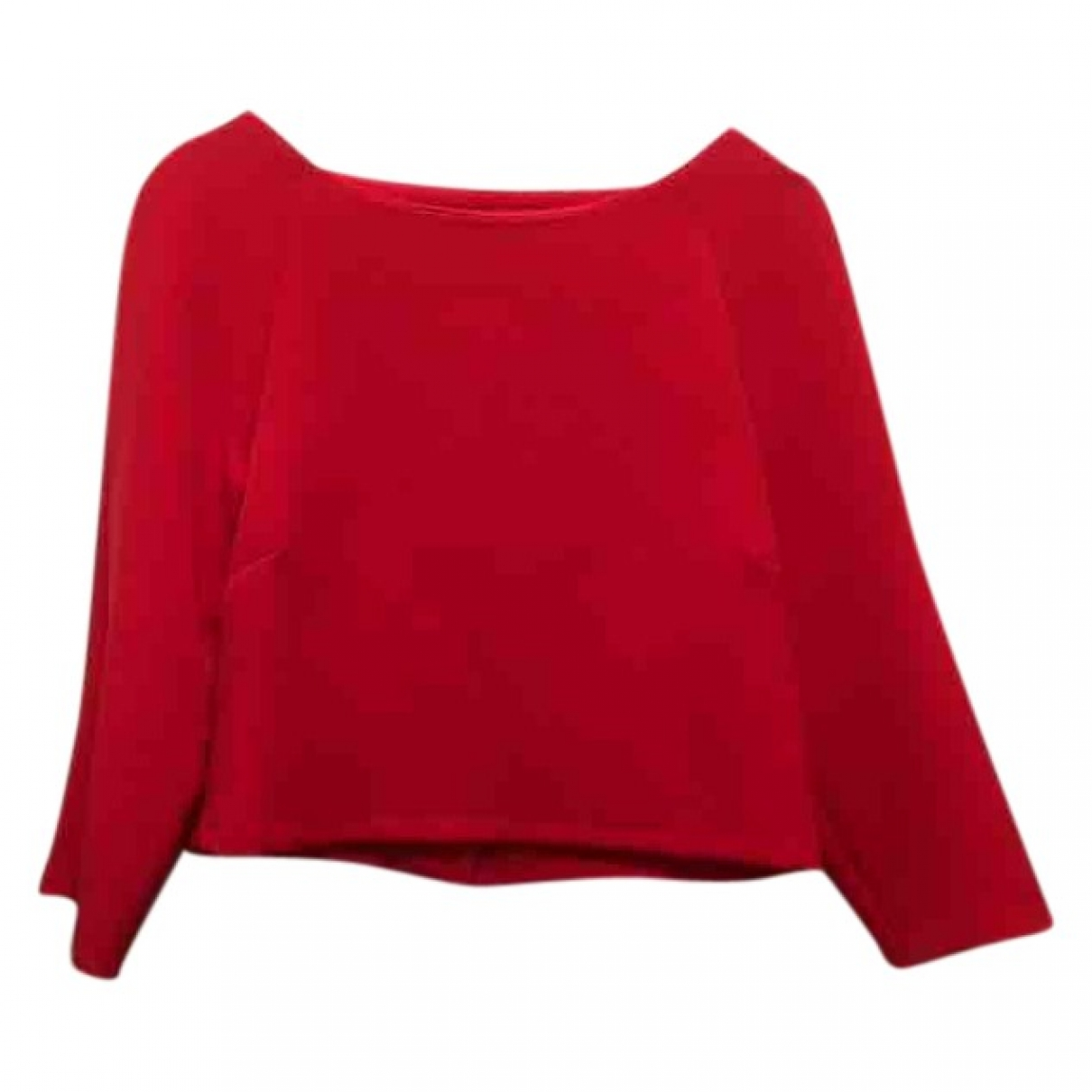 Maison Hēroine \N Top in  Rot Polyester