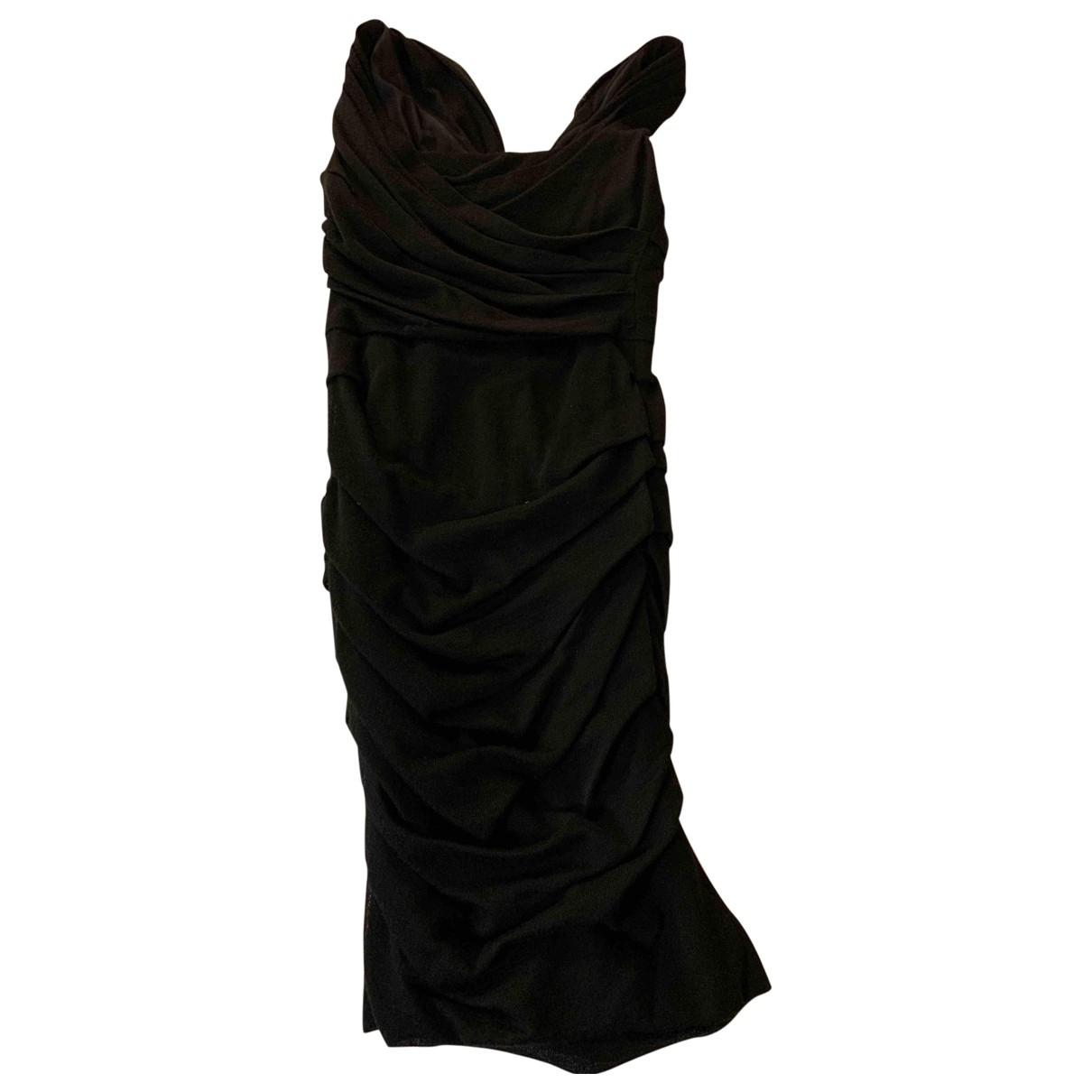 Dolce & Gabbana \N Black Wool dress for Women 44 IT