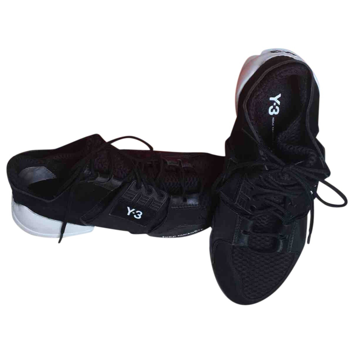 Y-3 \N Black Trainers for Women 37 EU