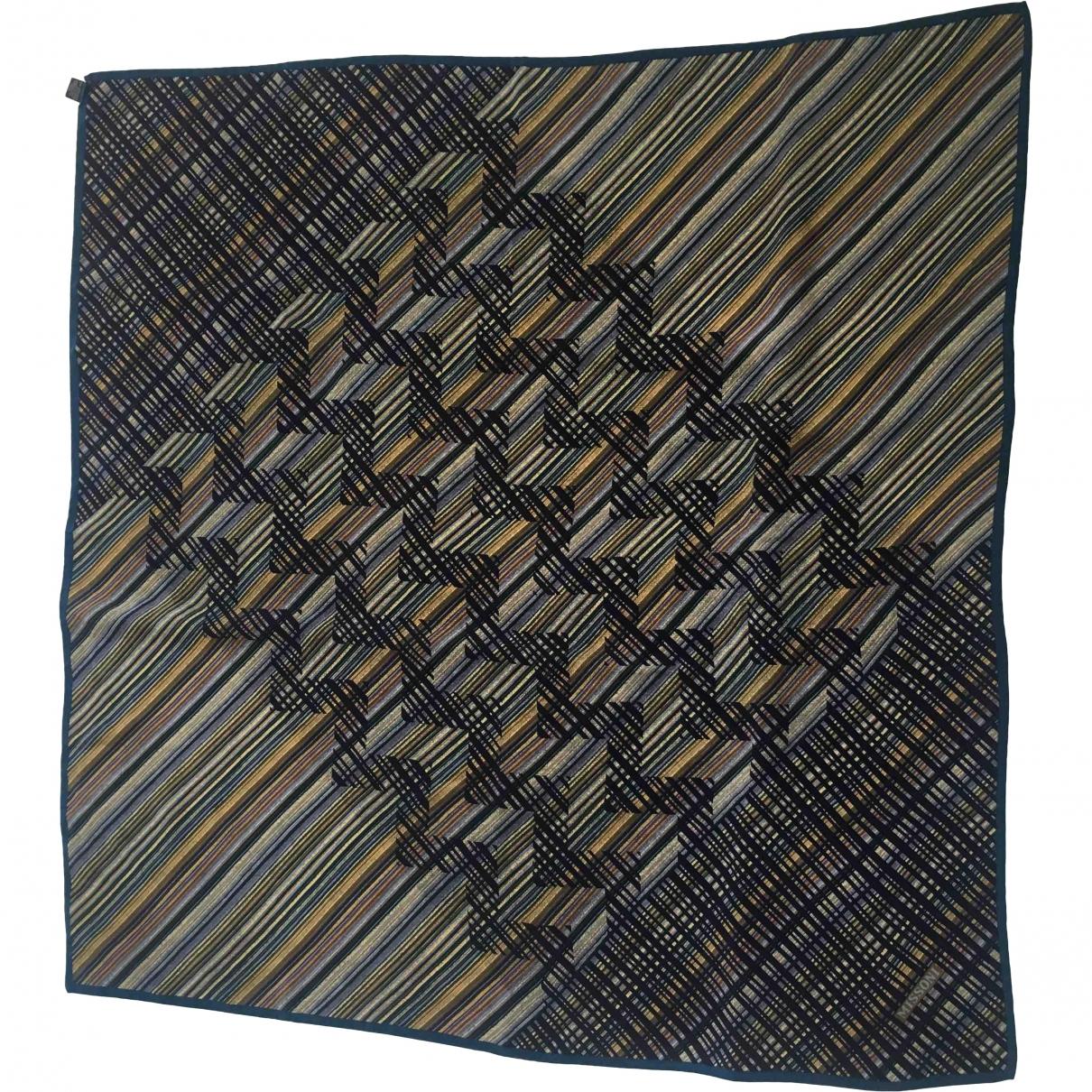 Missoni \N Navy Silk Silk handkerchief for Women \N