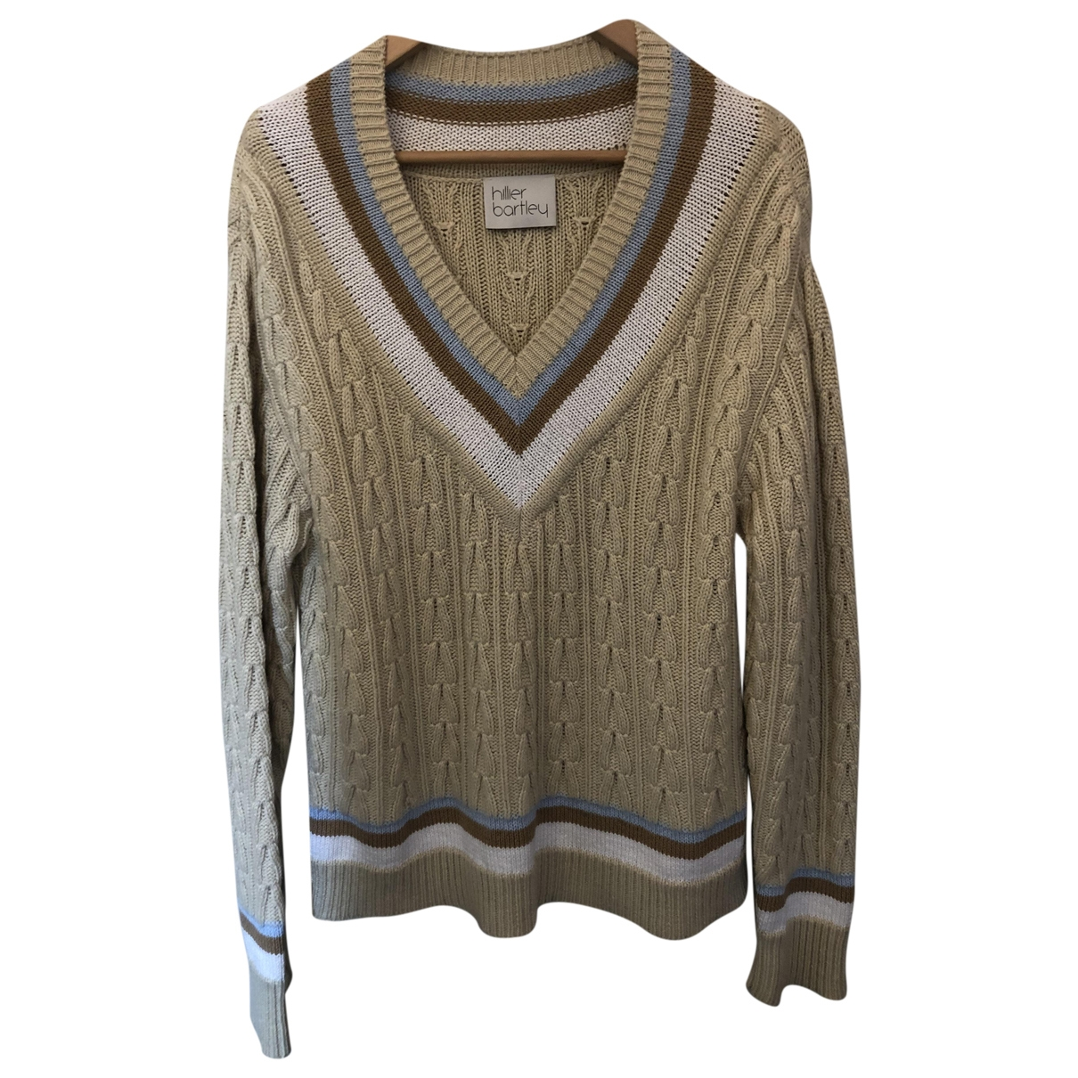 Hillier Bartley \N Pullover in  Beige Kaschmir