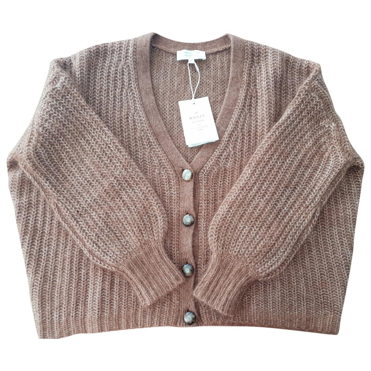 Sézane \N Camel Wool Knitwear for Women 34 FR