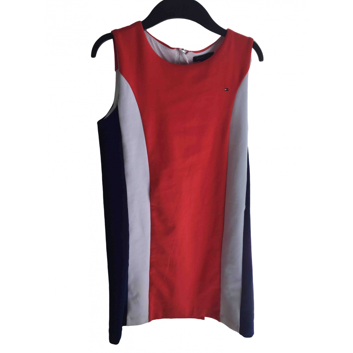 Tommy Hilfiger \N Red Cotton dress for Kids 14 years - S FR