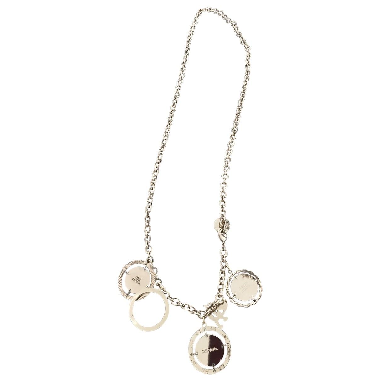 Elisabetta Franchi \N Gold Metal necklace for Women \N