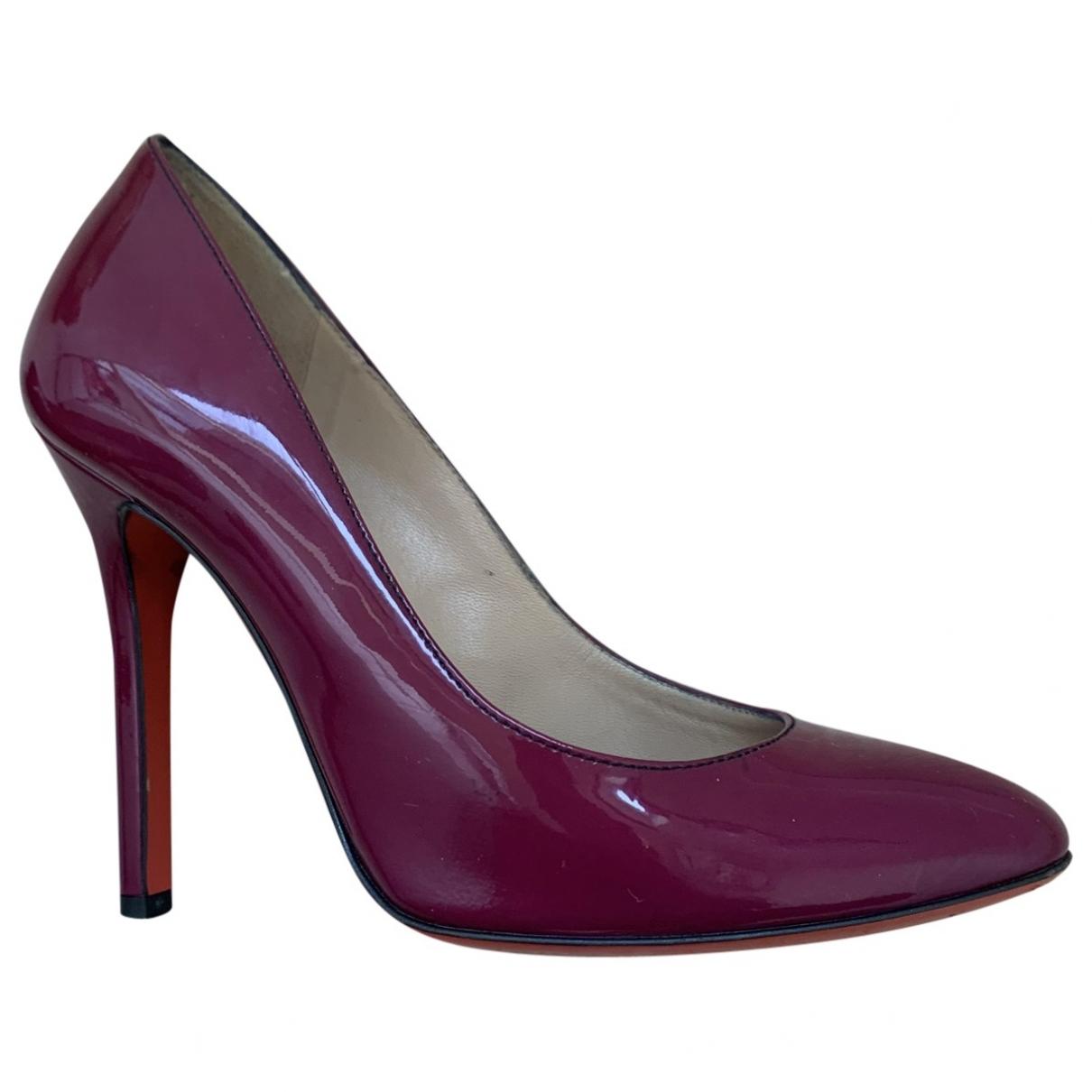 D&g \N Purple Patent leather Heels for Women 36 EU