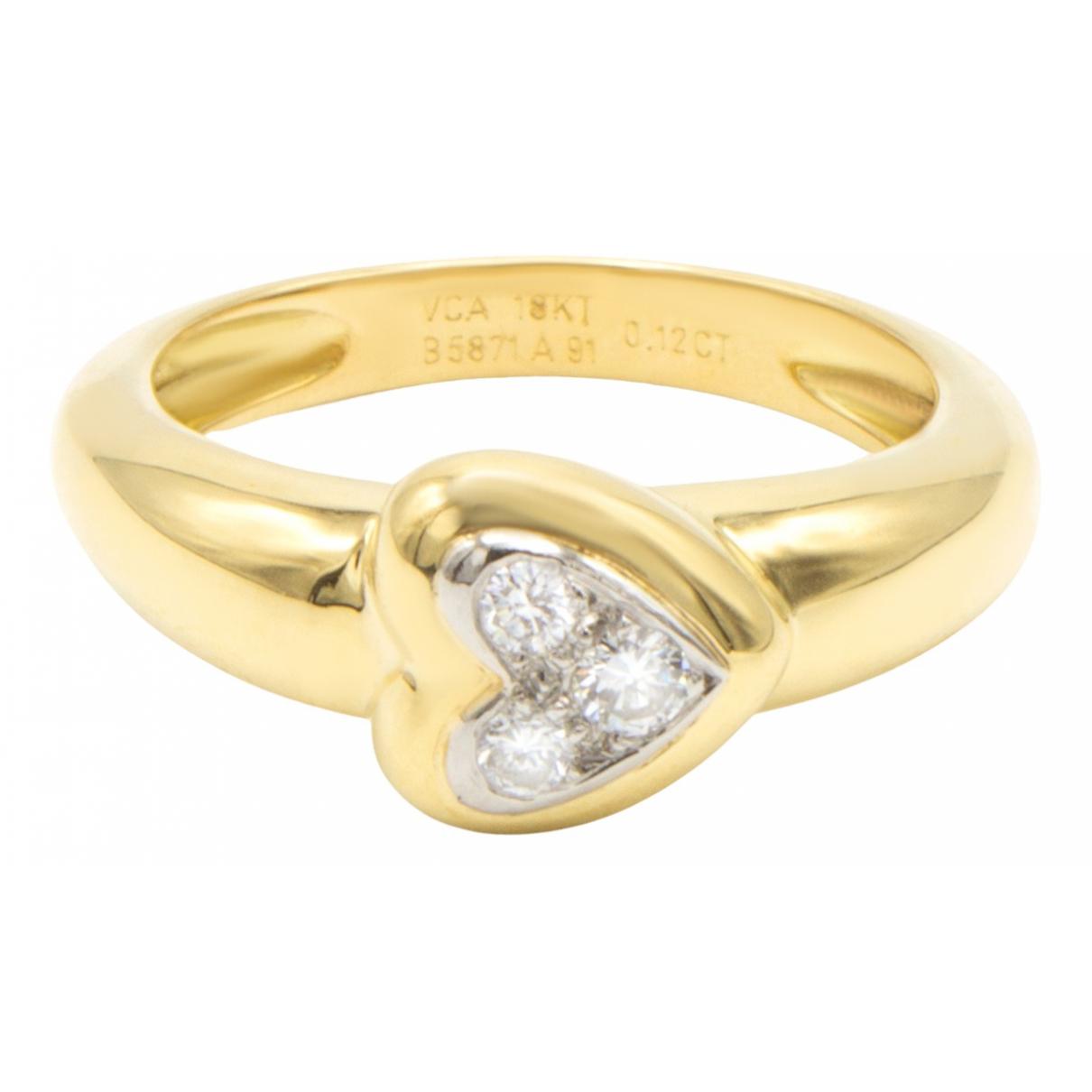 Van Cleef & Arpels - Bague   pour femme en or jaune - dore