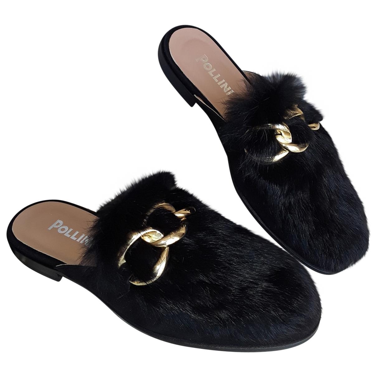 Sandalias de Cuero Pollini