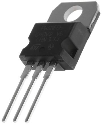 STMicroelectronics N-Channel MOSFET, 60 A, 60 V, 3-Pin TO-220  STP65NF06 (5)