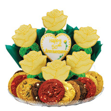 Golden Anniversary Cookie BouTray™