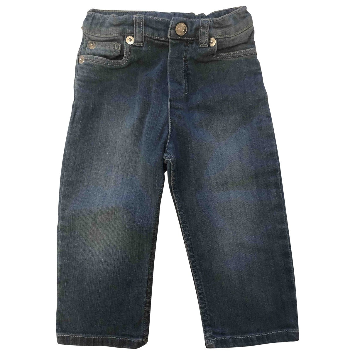 Dior \N Blue Denim - Jeans Trousers for Kids 12 months - up to 74cm FR