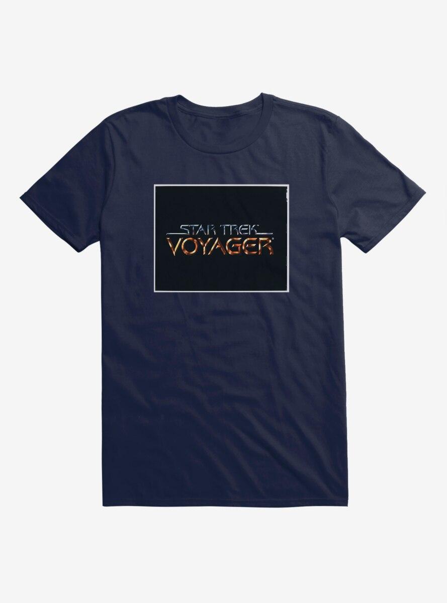 Star Trek Voyager Title Screen T-Shirt