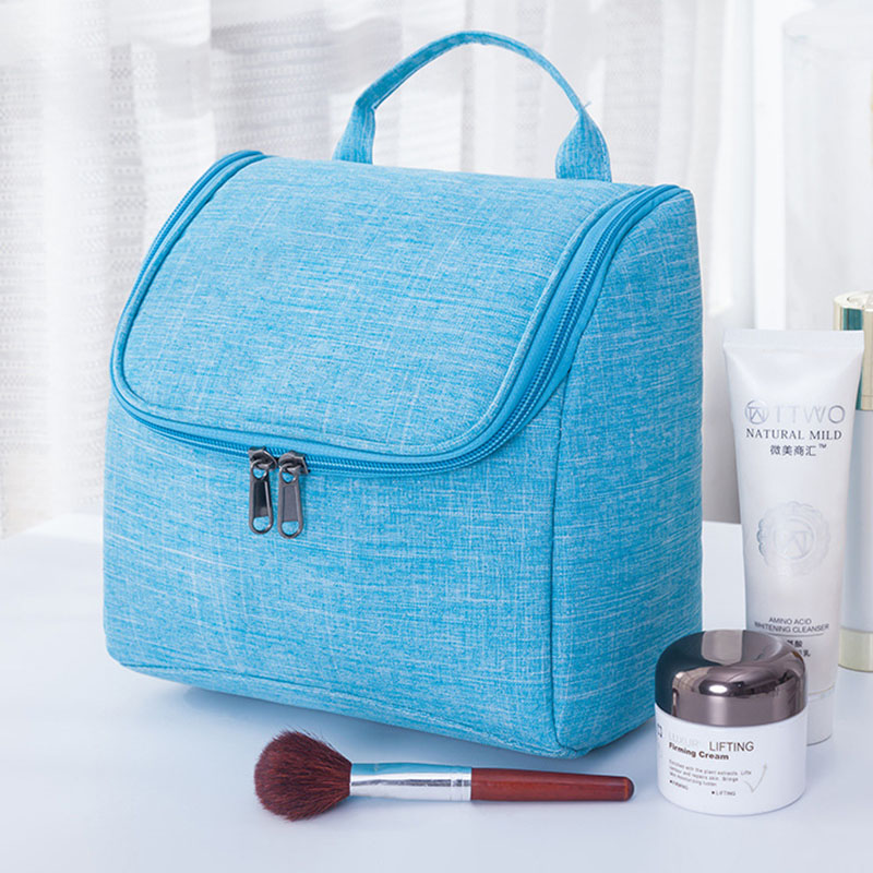Large Capacity Hand-held Portable Travel Cosmetic Bag