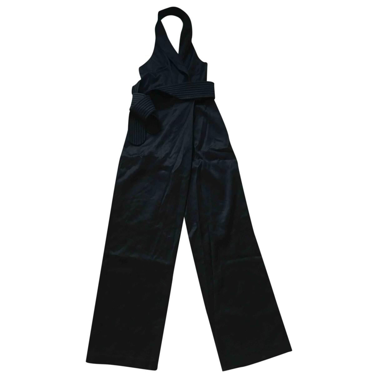 H&m Conscious Exclusive - Combinaison   pour femme en laine - noir