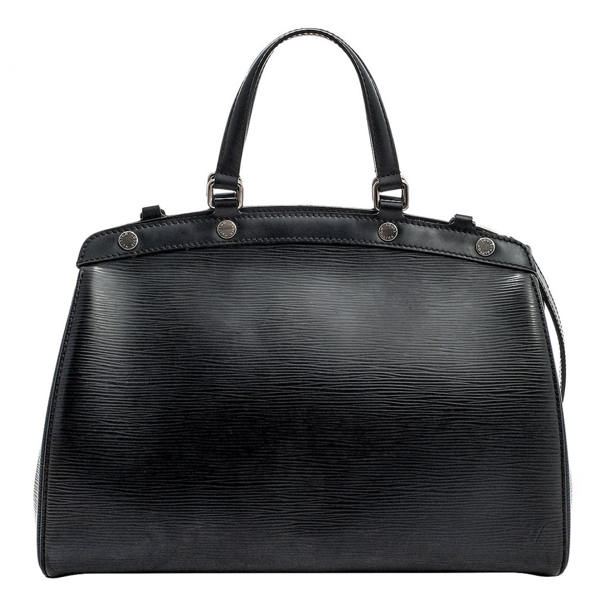 Louis Vuitton Bréa Black Leather handbag for Women \N