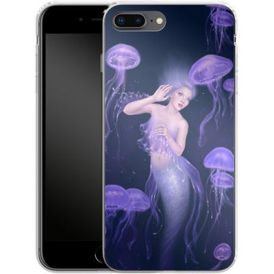 Apple iPhone 8 Plus Silikon Handyhuelle - Rachel Anderson - Bioluminescence von TATE and CO
