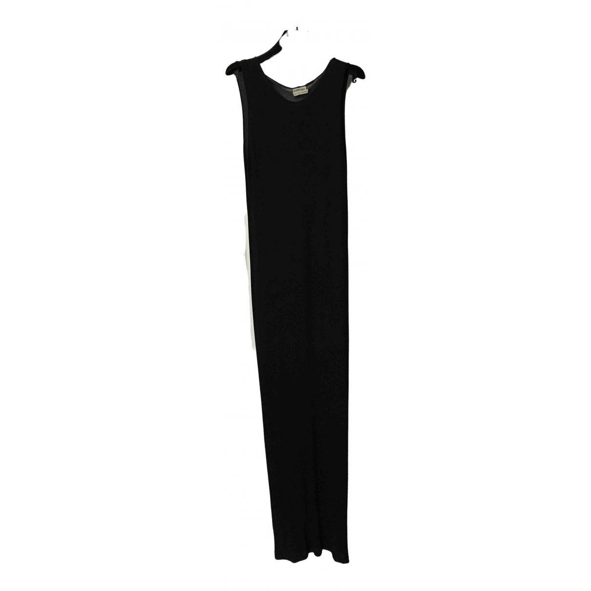 Hermès \N Black Silk dress for Women 40 FR