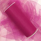 Fuchsia Tulle - 3 X 25yd - Fabric Cloth - Width: 3 by Paper Mart
