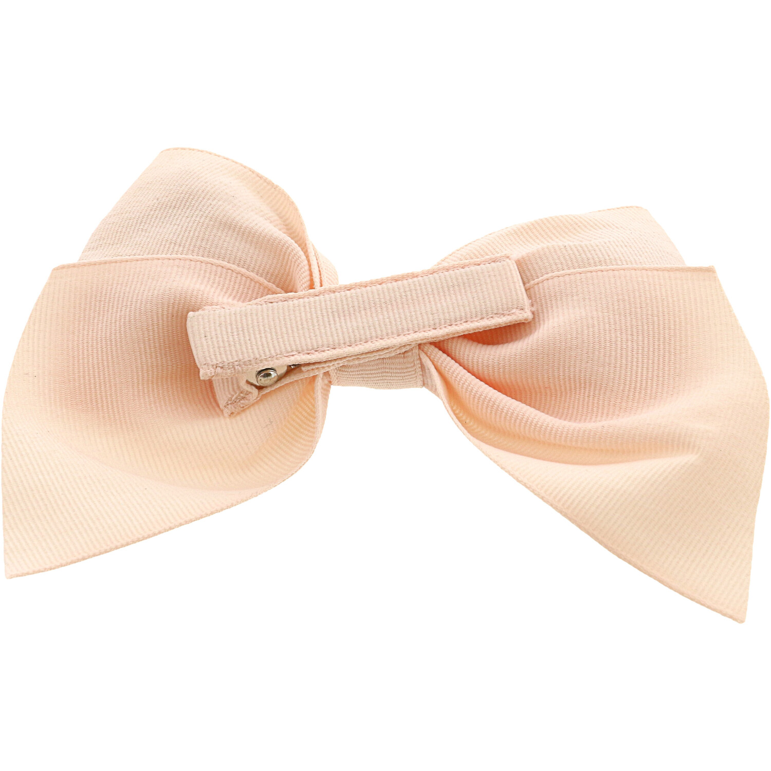 Janie And Jack Girl's Bow Barrette Hair Accessory - One Size - Blush