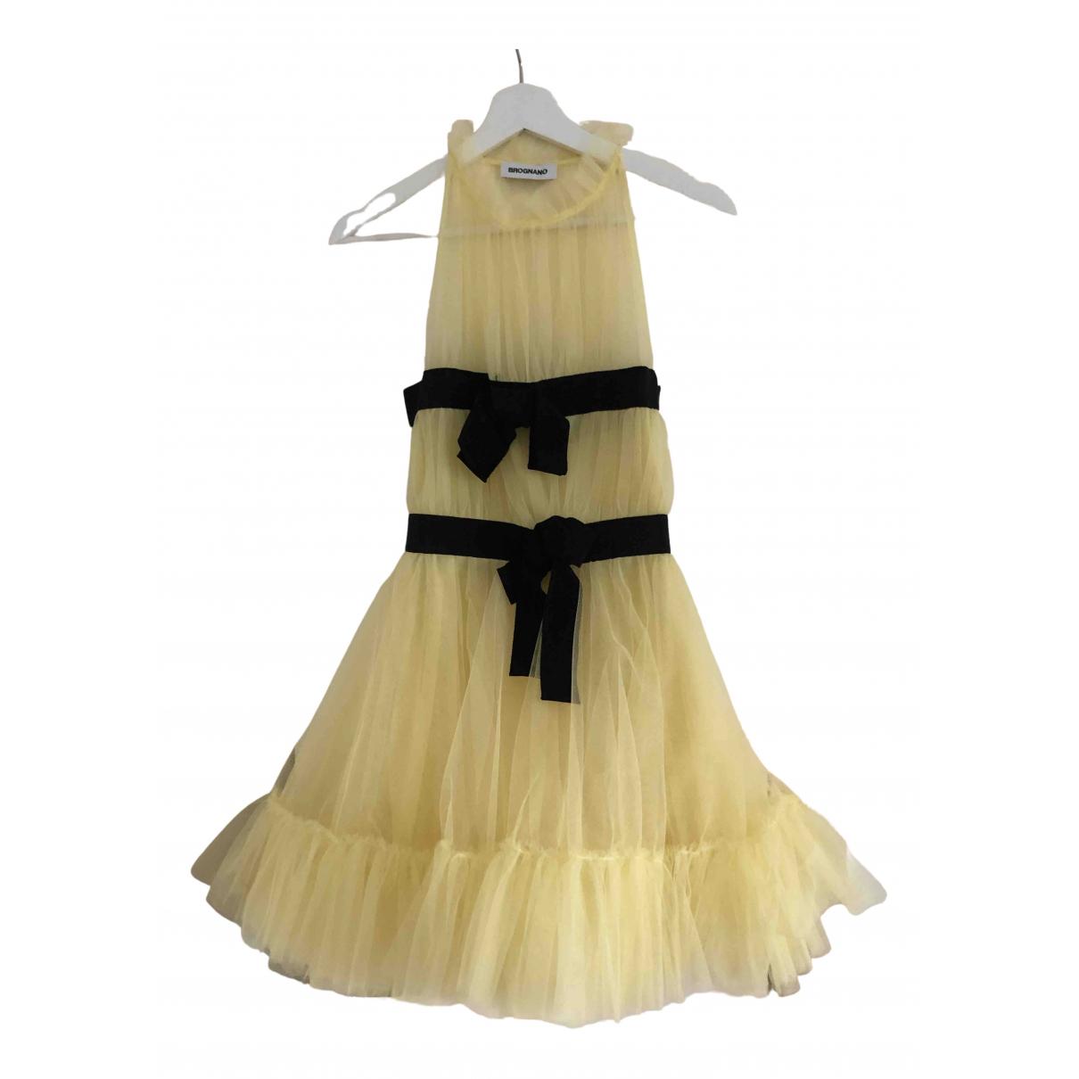 Brognano - Robe   pour femme - jaune