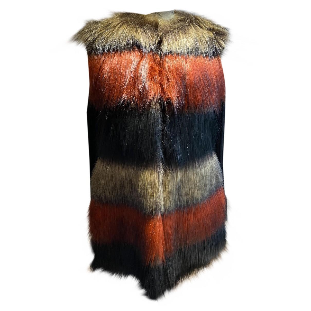 Twin Set N Multicolour Faux fur coat for Women XS International