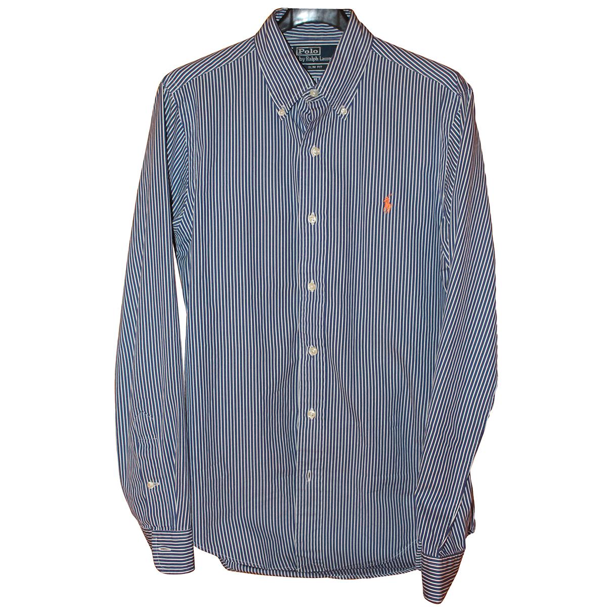 Polo Ralph Lauren N Blue Cotton Shirts for Men S International