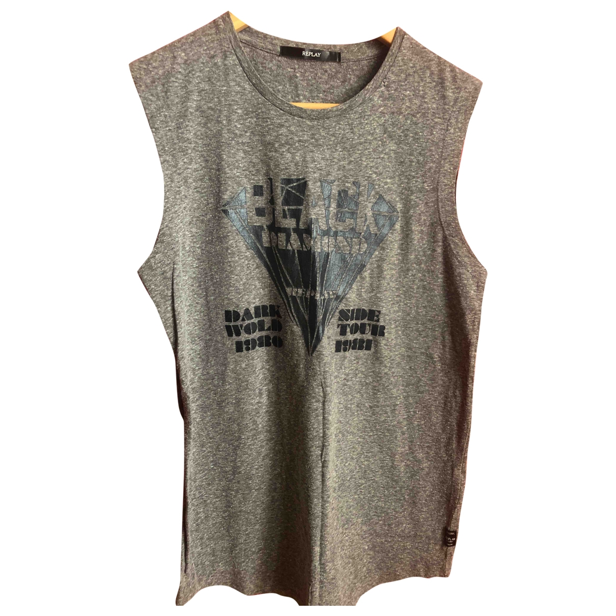Replay \N Grey Cotton  top for Women S International