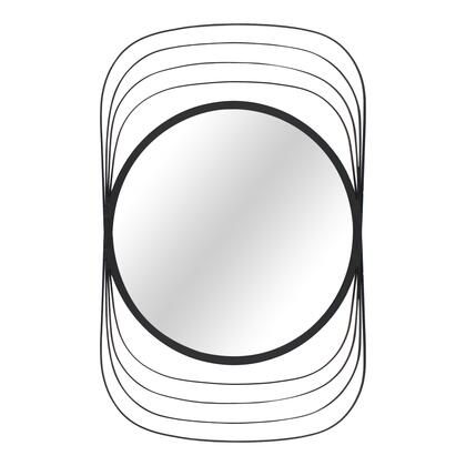 Fiddler Collection TY-1043-02 Mirror with Iron Frame in Black