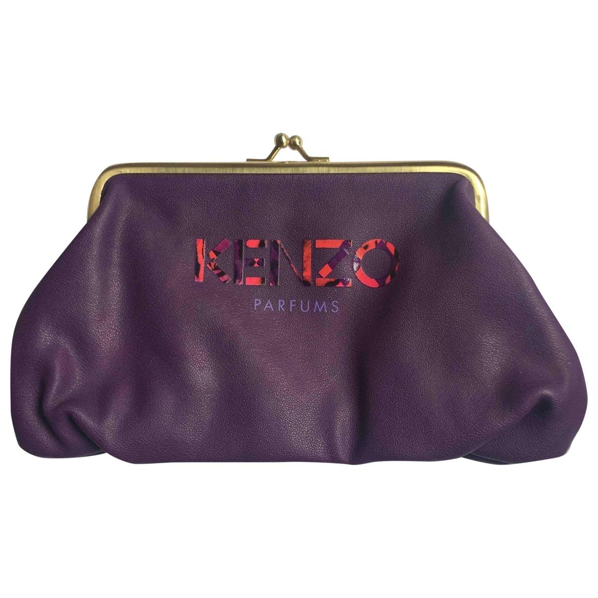 Kenzo - Pochette   pour femme - violet