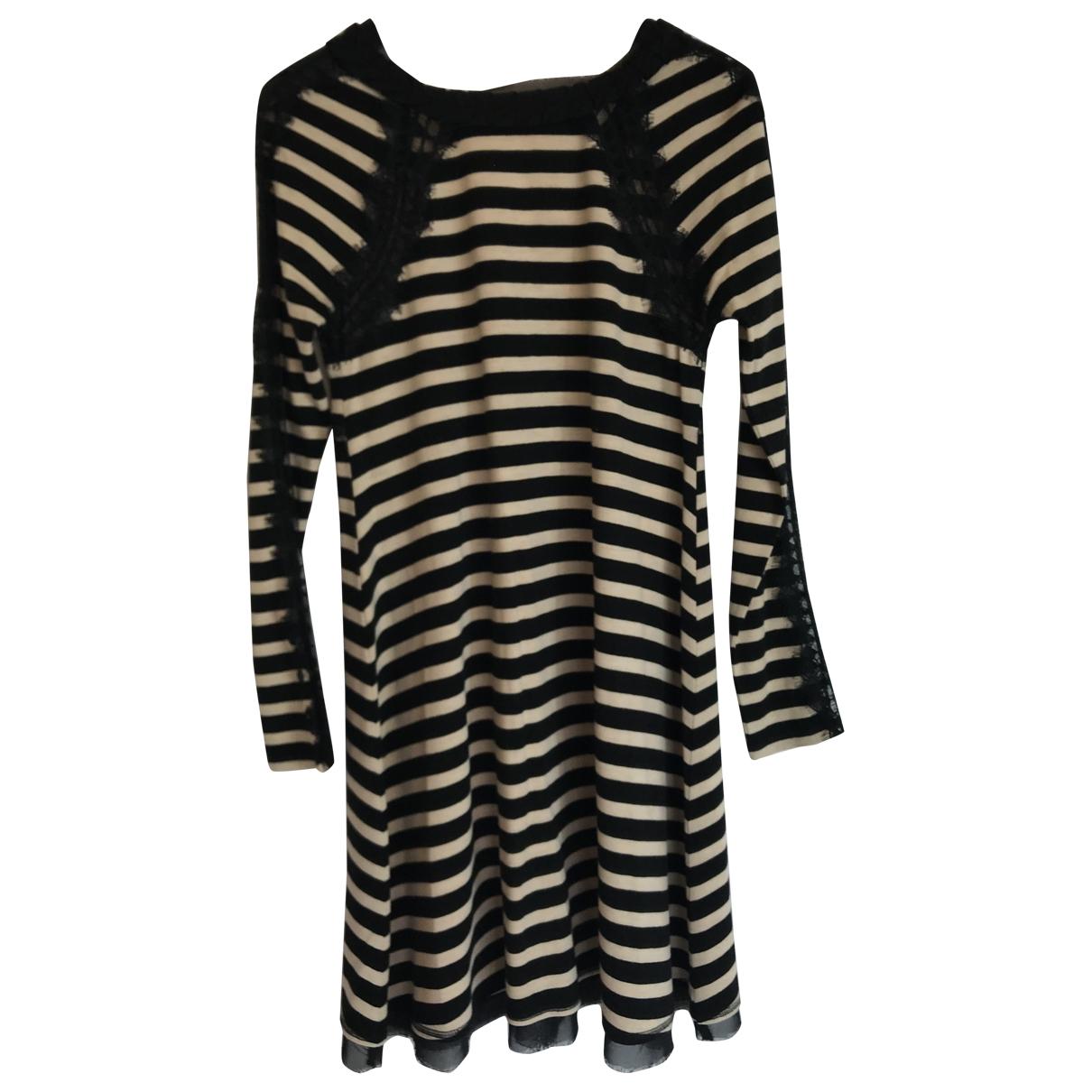 Pringle Of Scotland \N Black Cotton dress for Women 6 UK