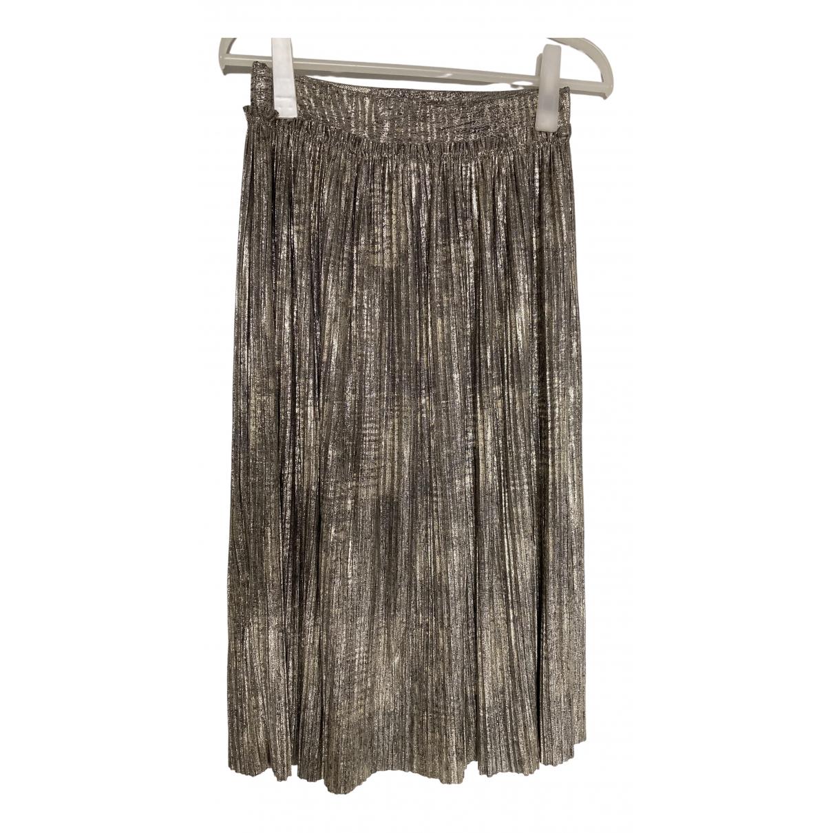Non Signé / Unsigned \N Gold skirt for Women M International