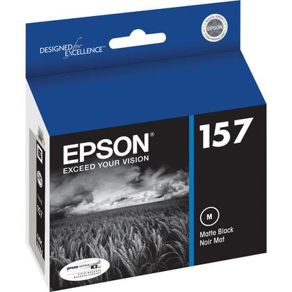 Epson T157820 cartouche d'encre originale noire mat pour l'imprimante Epson Stylus Photo R3000