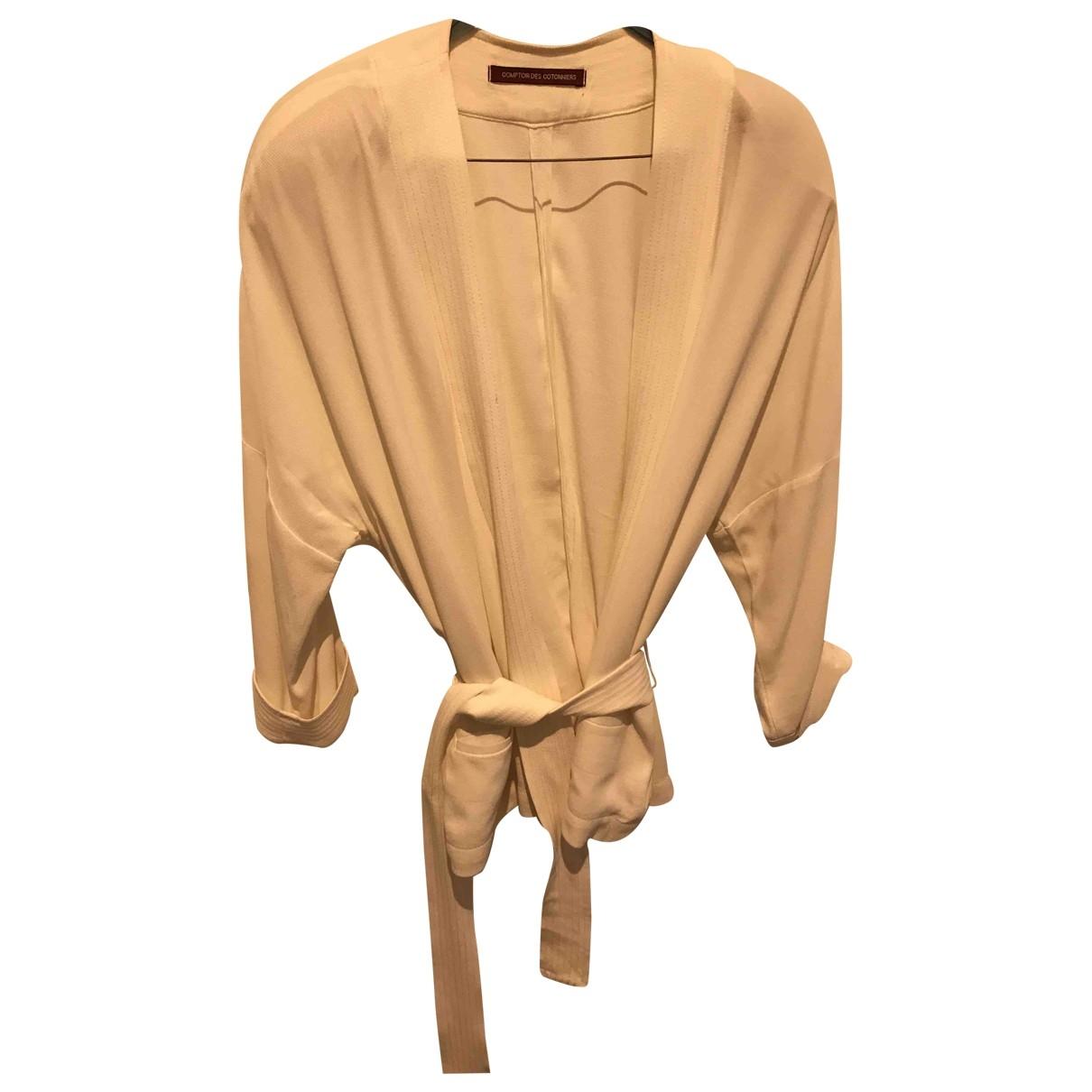 Comptoir Des Cotonniers \N White jacket for Women S International