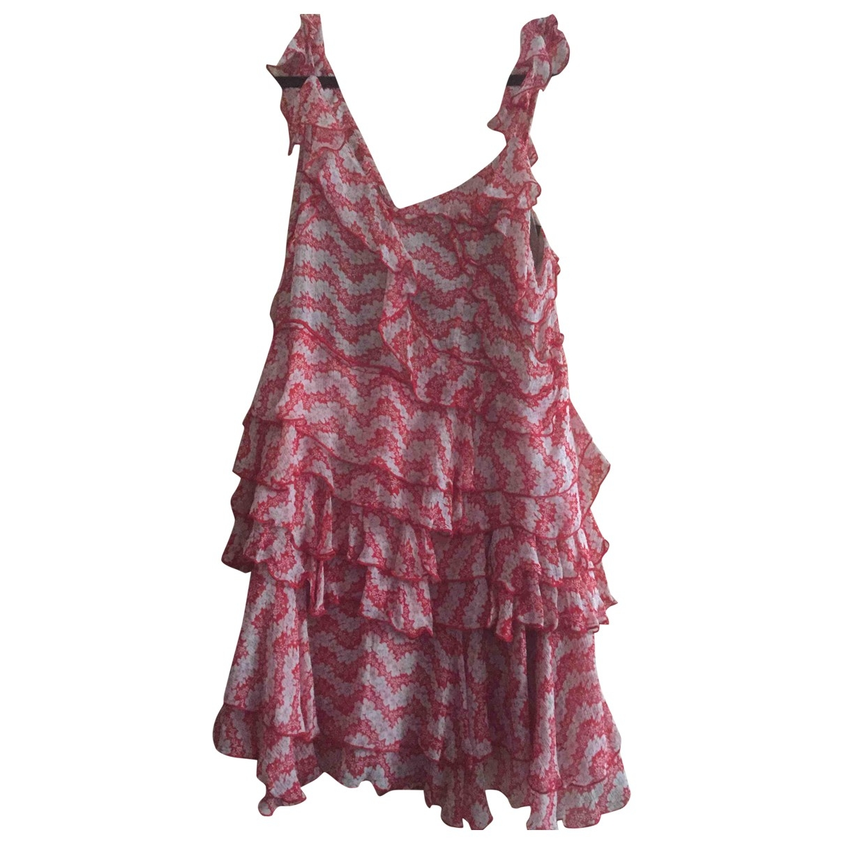 The Kooples \N Kleid in  Rosa Polyester