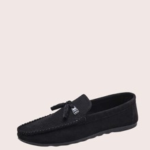 Men Metal Decor Loafers