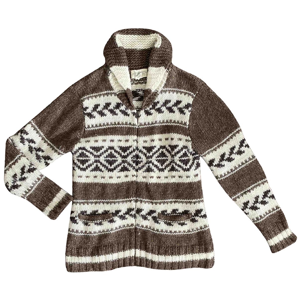 Ralph Lauren Denim & Supply \N Pullover.Westen.Sweatshirts  in  Braun Wolle