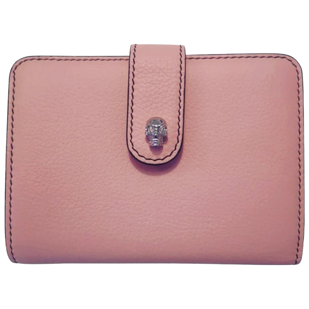 Alexander Mcqueen N Pink Leather Purses, wallet & cases for Women N