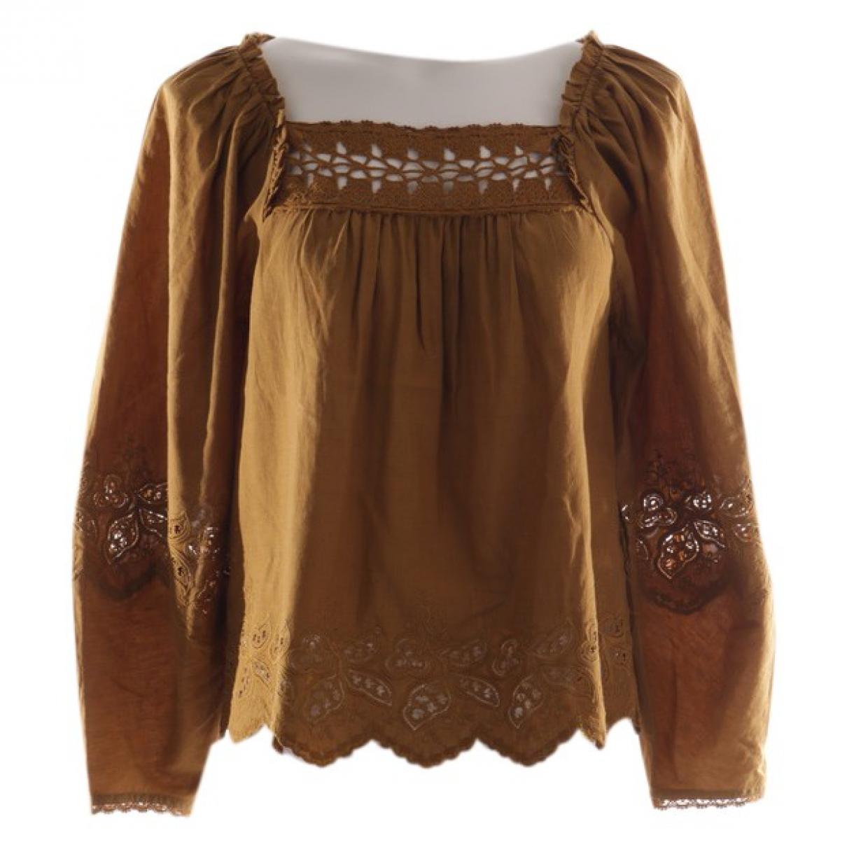 Ulla Johnson \N Brown Cotton  top for Women 34 FR
