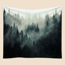 Tapisserie mit Landschaft Muster