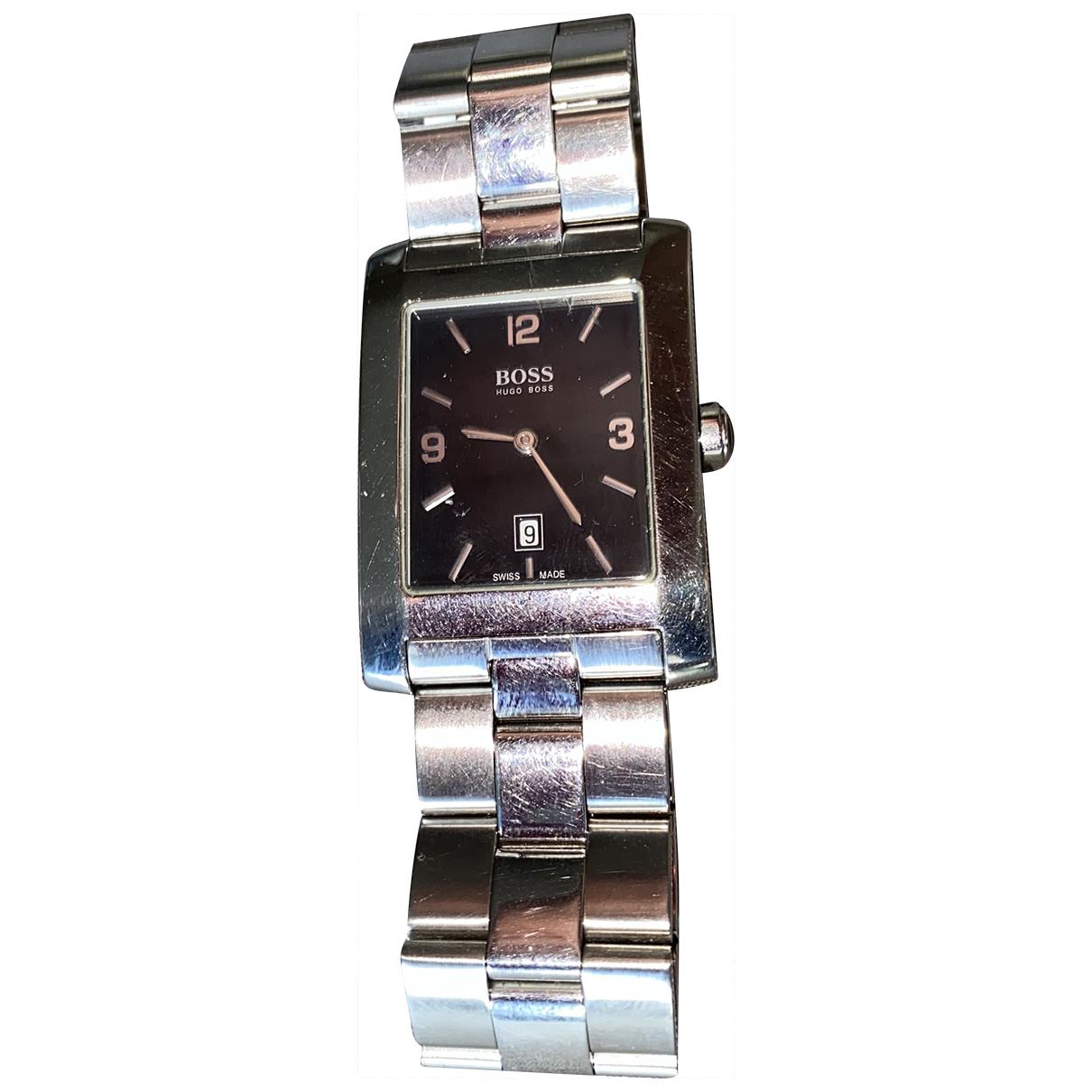 Hugo Boss \N Uhr in  Silber Silber