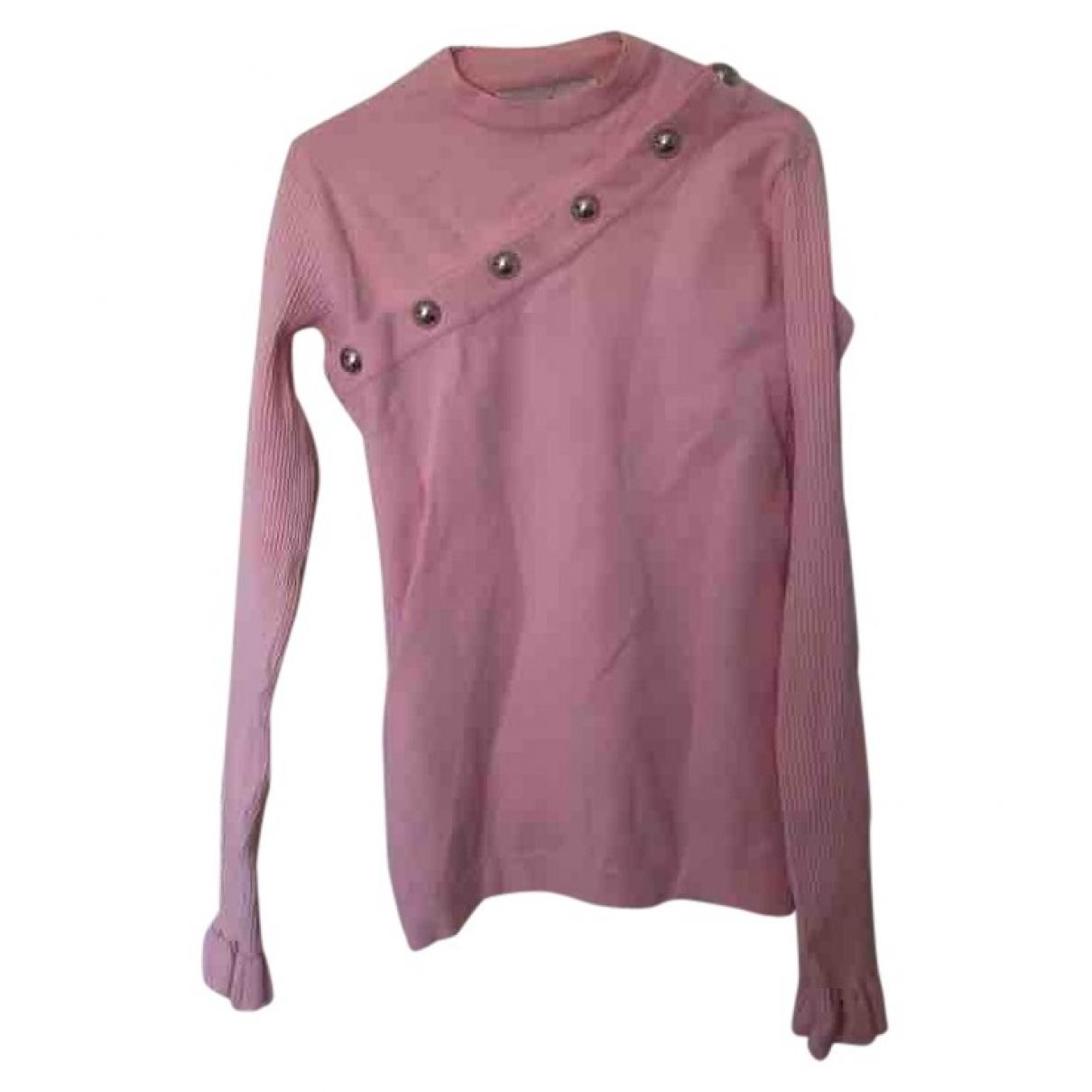 Marques Almeida - Pull   pour femme en laine - rose
