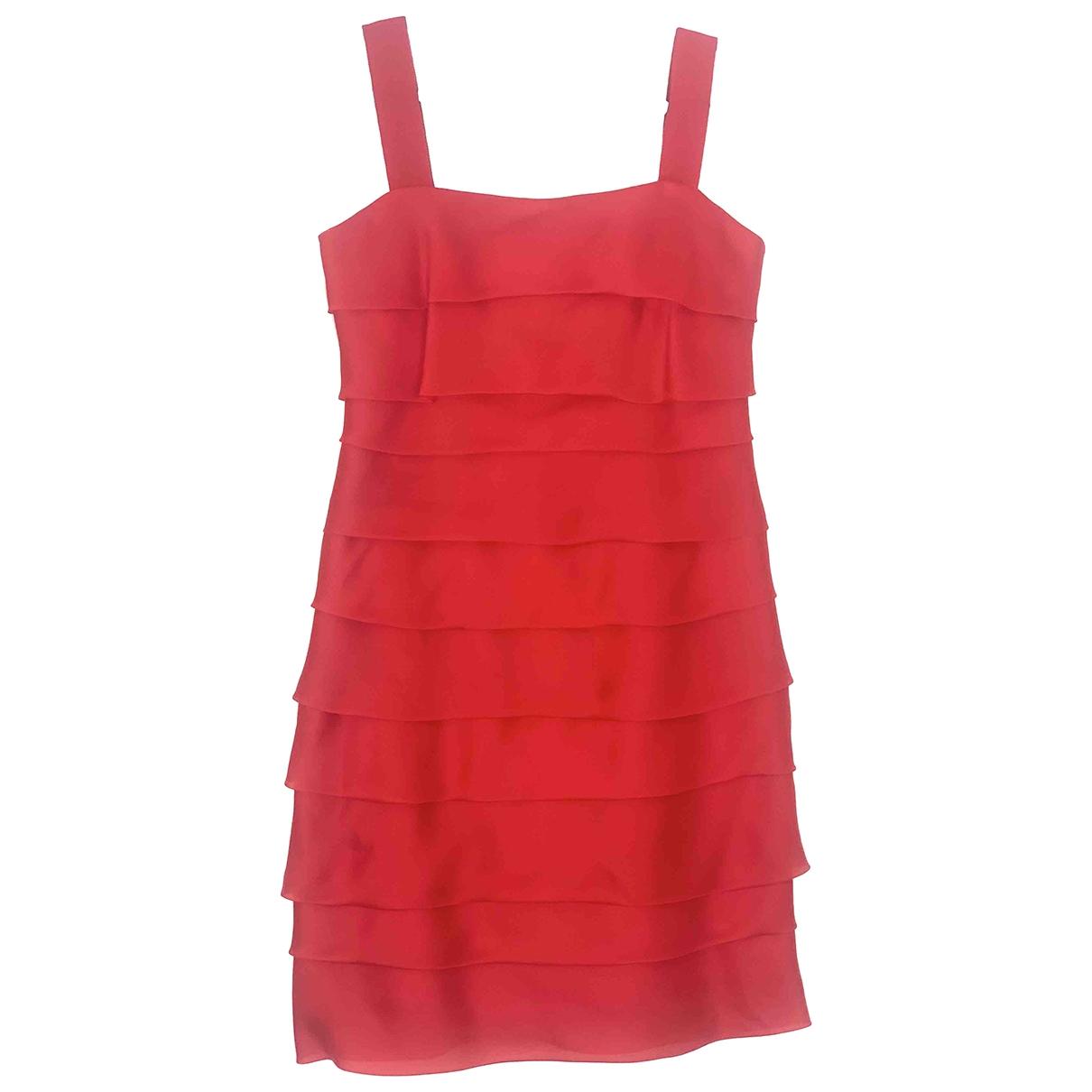 Carolina Herrera - Robe   pour femme en coton - elasthane - rouge