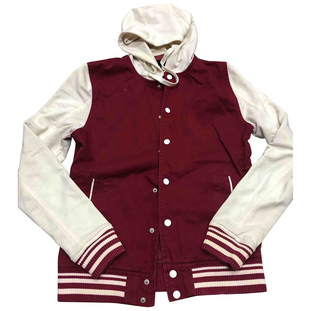 Asos \N Burgundy Cotton jacket  for Men S International