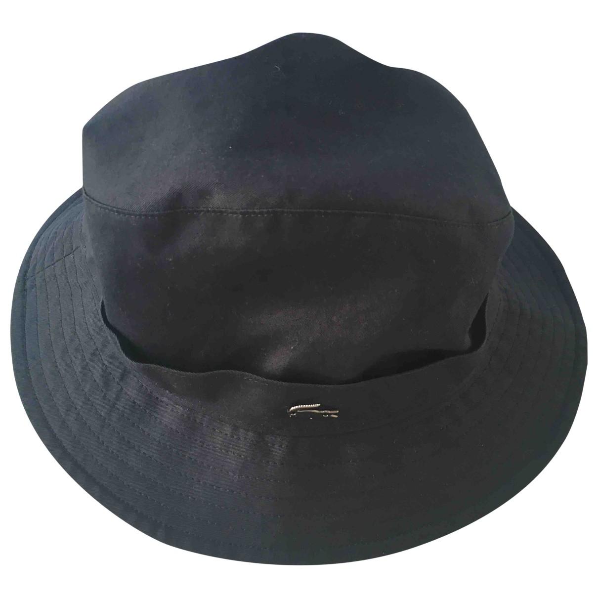 Lacoste - Chapeau & Bonnets   pour homme en coton - bleu