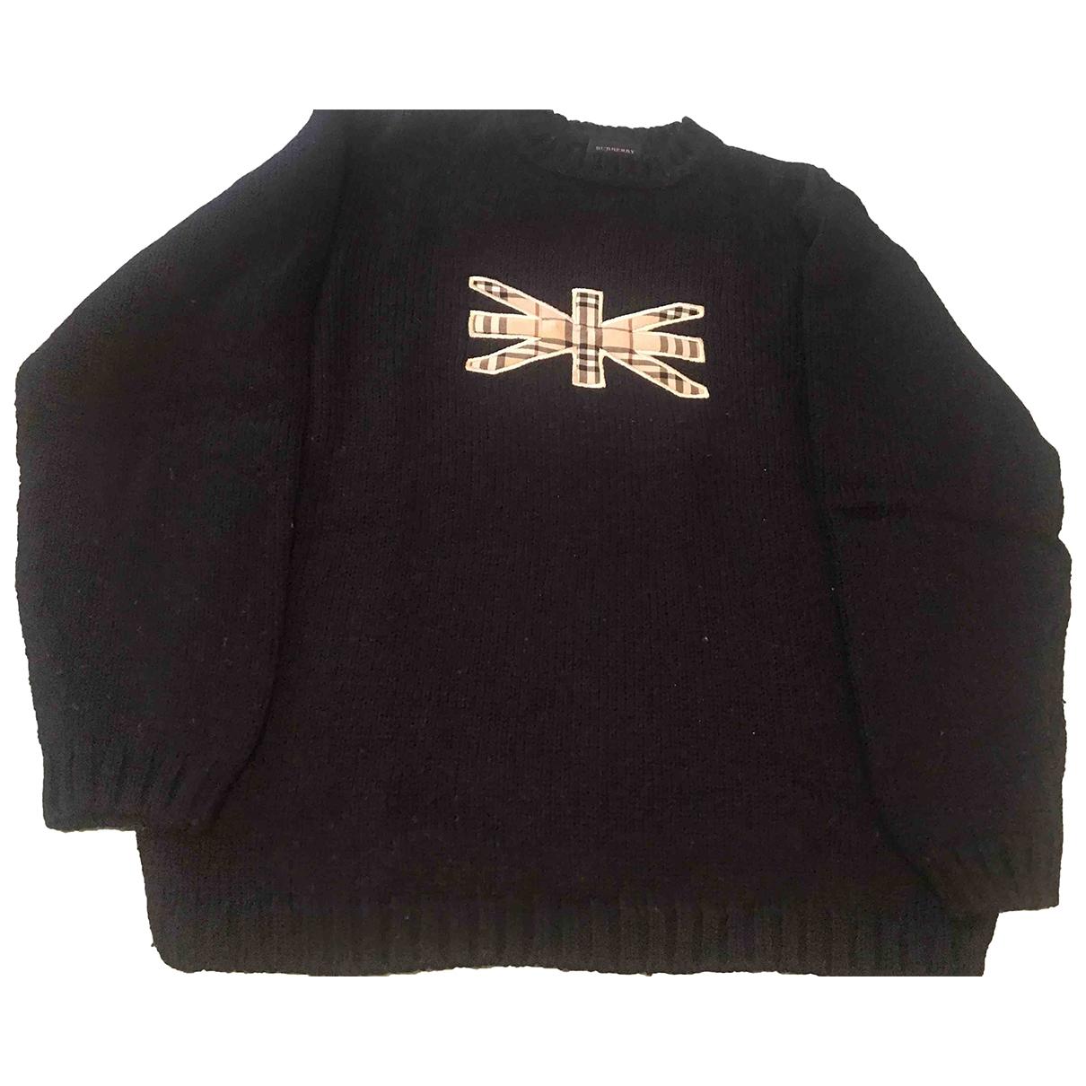 Burberry \N Black Wool Knitwear for Women 36 IT